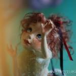 "авторская кукла ""Люси и цветок"""